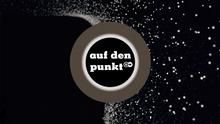 """DW """"Auf den Punkt"""" Sendungslogo deutsch"""