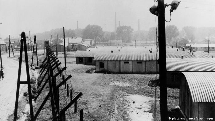 Campo de concentração de Trzebinia, na Polônia