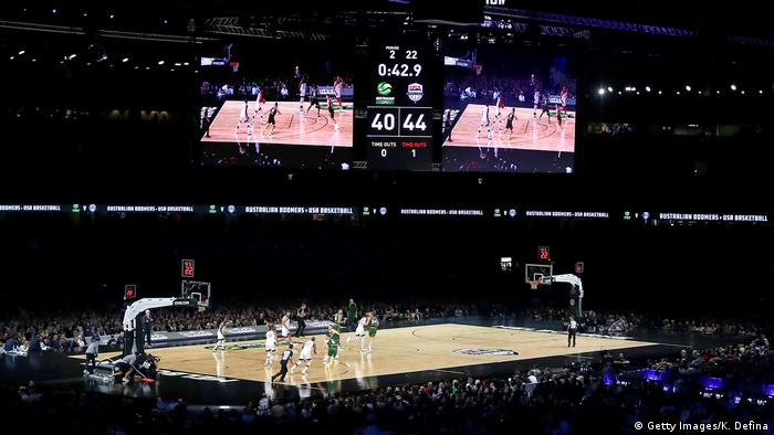US-Australia basketball: Fans voice anger at seating