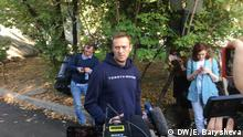 Russland Alexei Navalny aus der Haft entlassen