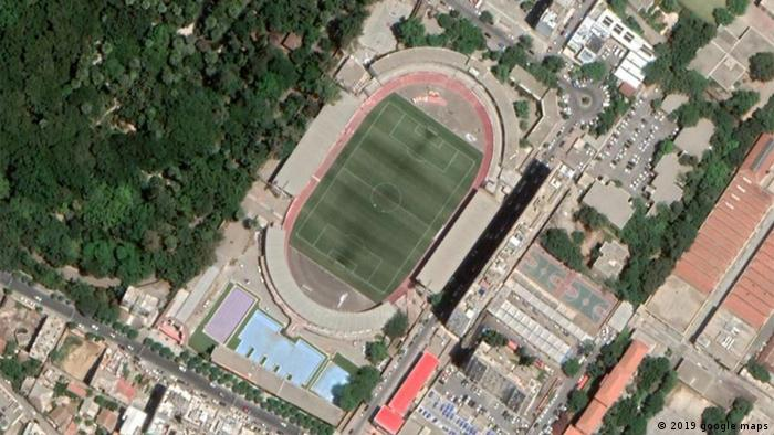 Algerien Stadion 20. August 1955 in Algier (2019 google maps)