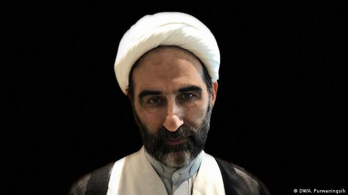 Ayatollah Ahmad Moballeghi Religions for Peace Lindau (DW/A. Purwaningsih)