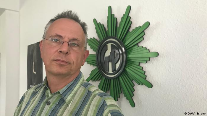Polizei Stephan Kelm GdP (DW/V. Esipov)