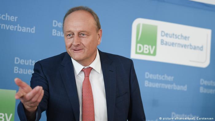 Joachim Ruckwied, președintele Asociației Fermierilor Germani