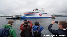 Russland schwimmendes Kernkraftwerk Akademik Lomonosov sticht in See