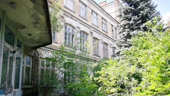 Будівля історичної німецької гімназії у Києві вже багато років порожня і занепадала, перебуваючи на балансі Міністерства аграрної політики