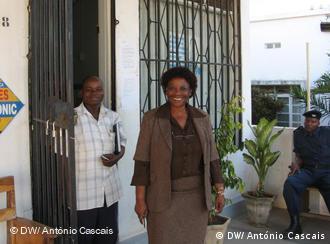 Angélica Sacramento, gerente da Caixa das Mulheres de Nampula, diz que se orgulha com o que a sua instituição conseguiu fazer pelas mulheres em toda a província.