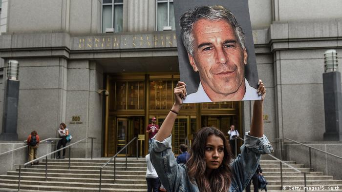 Jeffrey Epstein Protest (Getty Images/S. Keith)