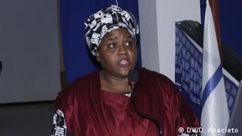 Mosambik | Rohstoffseminar: Zenaida Machado - HRW / Mosambik