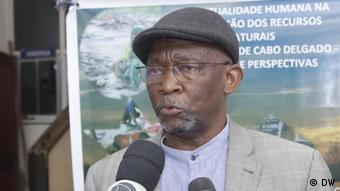 Mosambik   Rohstoffseminar: Tomás Vieira Mário - Forscher und Analyst