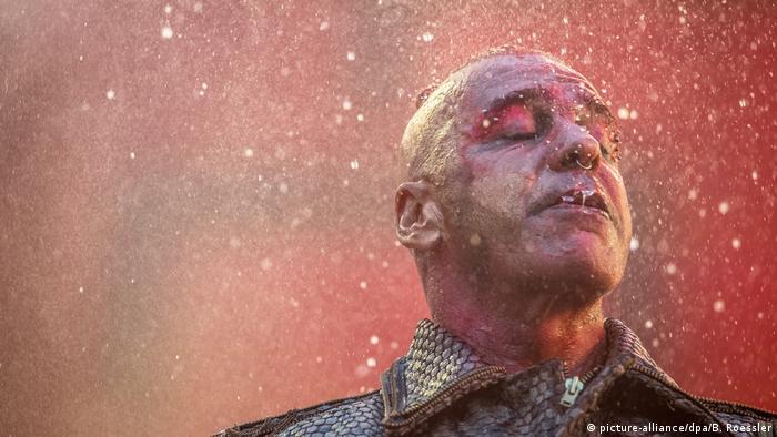 Rammstein singer Till Lindemann,