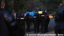 Frankreich | Auseinandersetzung von Anti-G7 Protestlern und Polizei