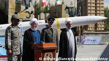 Neues Raketenabwehrsystem in Teheran (picture-alliance/dpa/Iranian Presidency)