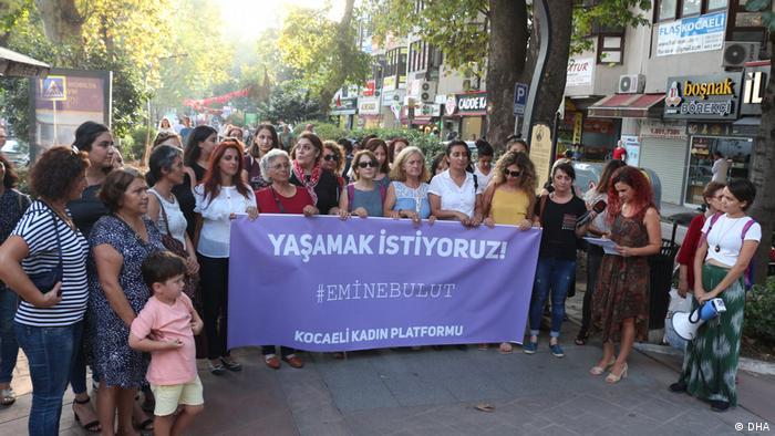 Türkei Demonstration Gewalt gegen Frauen