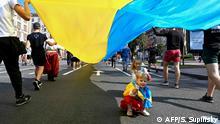 Ukraine Feierlichkeit zum Unabhängigkeitstag in Kiew