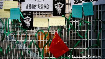 Protest Hongkong China (Reuters/W. Kurniawan)