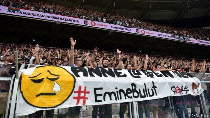 Türkei Demonstrationen gegen Gewalt an Frauen (DHA/I. Mase)