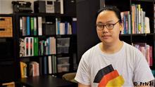 Chiu-Kit Lam, Ingenieur aus Hongkong und berufstätig in Baden Württemberg. Er und andere Hongkonger in Deutschland haben eine politische Anzeige für Hongkonger Demokraten in Faz am 19. August 2019 über Crowdfunding arrangiert.