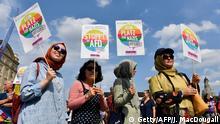 Deutschland Unteilbar Demonstration in Dresden