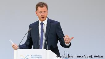 Michael Kretschmer CDU Spitzenkandidat (picture-alliance/dpa/J. Woitas)