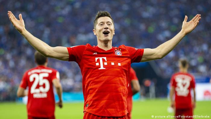 Hasil gambar untuk Robert Lewandowski (Bayern Munich