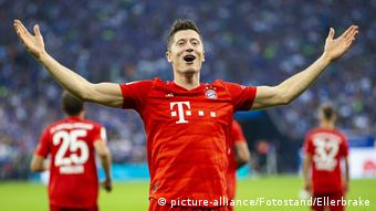 Lewandowski proved the match winner for Bayern Munich once again