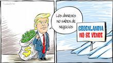 Karikatur von Vladdo | Kauf in Grönland