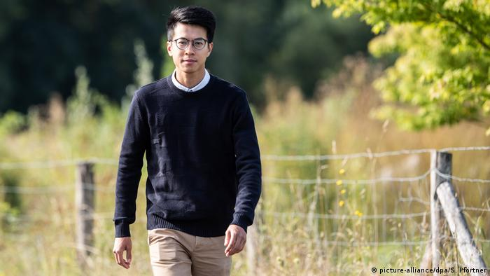 Deutschland Göttingen | Ray Wong, ehemaliger Aktivist aus Hongkong