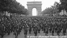 Zweiter Weltkrieg Befreiung von Paris durch US-Truppen