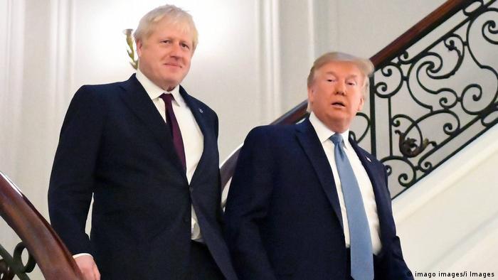 Дональд Трамп і Борис Джонсон / Фото: dw.com