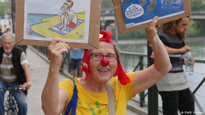 Bayonne Proteste G7 (DW/B. Riegert)