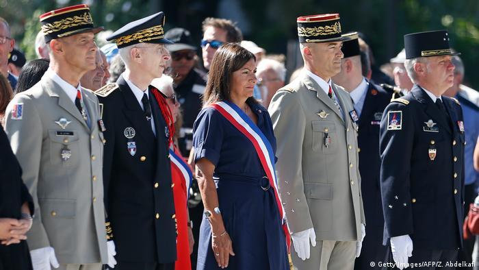 Frankreich 75 Jahre nach der Befreiung von Paris (Getty Images/AFP/Z. Abdelkafi)