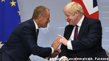 G7-Gipfel in Frankreich | Donald Tusk mit Boris Johnson