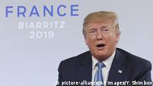 G7-Gipfel in Frankreich | Donald Trump