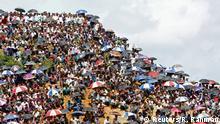Bangladesch Demonstration Rohingya im Flüchtlingslager Kutupalong