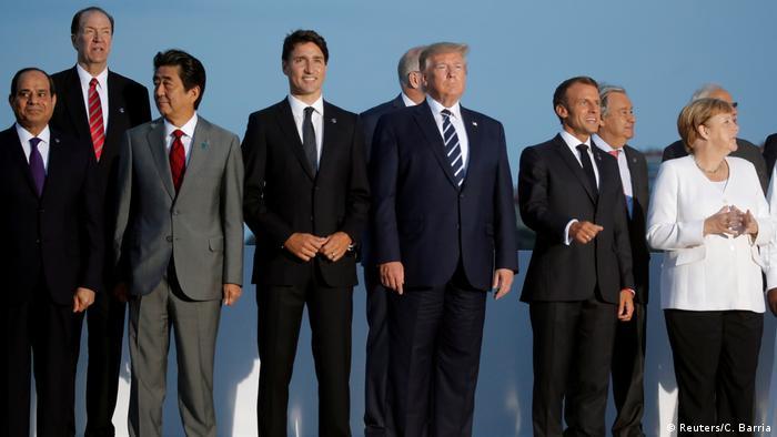 G7-Gipfel in Frankreich (Reuters/C. Barria)