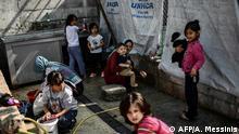 Lesbos Flüchtlingslager Moria Kinder