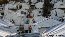 Lesbos Flüchtlingslager Moria