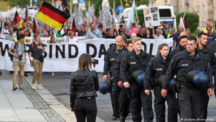 Pro Chemnitz Demonstration
