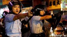 Hongkong Gewalt bei Protesten