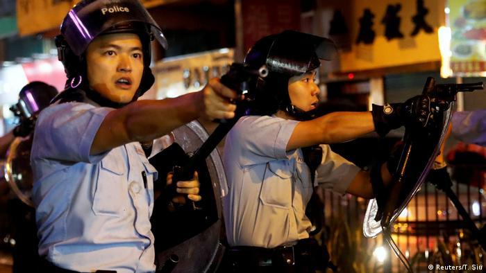 Hongkong Gewalt bei Protesten (Reuters/T. Siu)