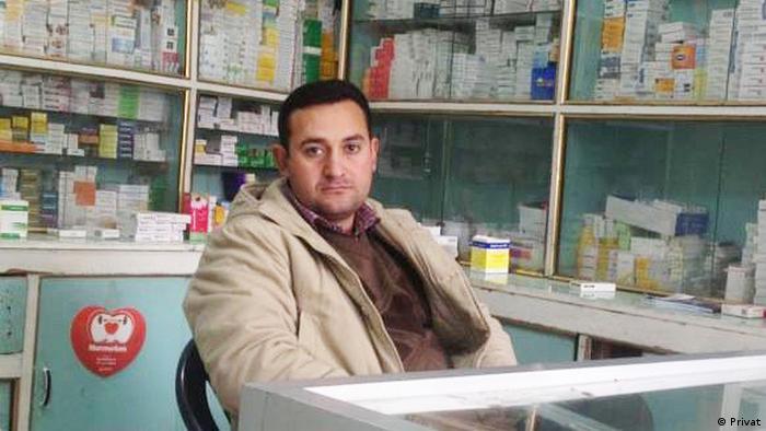 Apotheker Diaa aldahi (Privat)