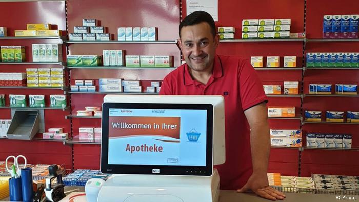 Aptekarz z Syrii w Krefeld