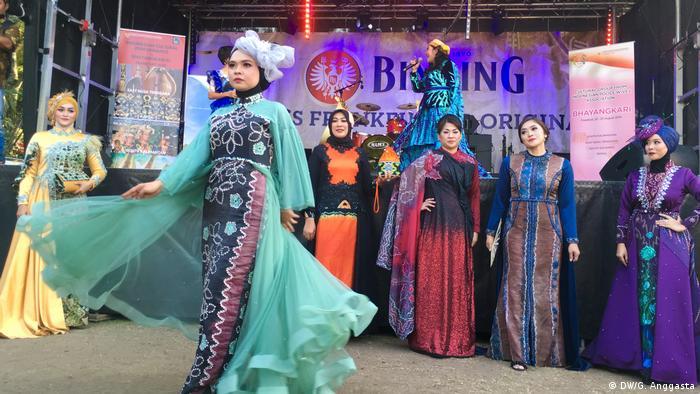 Indonesisches Museumsuferfest 2019 Frankfurt am Main (DW/G. Anggasta)
