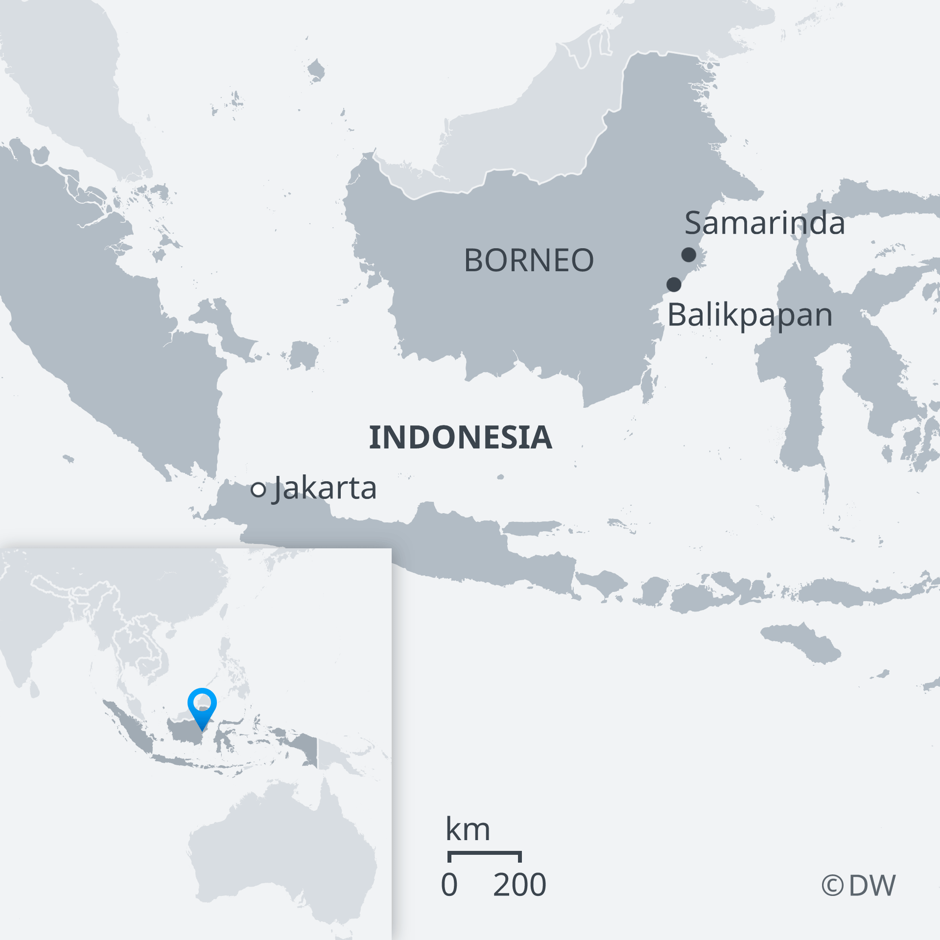 Indonesia announces location of new capital on Borneo | News ...