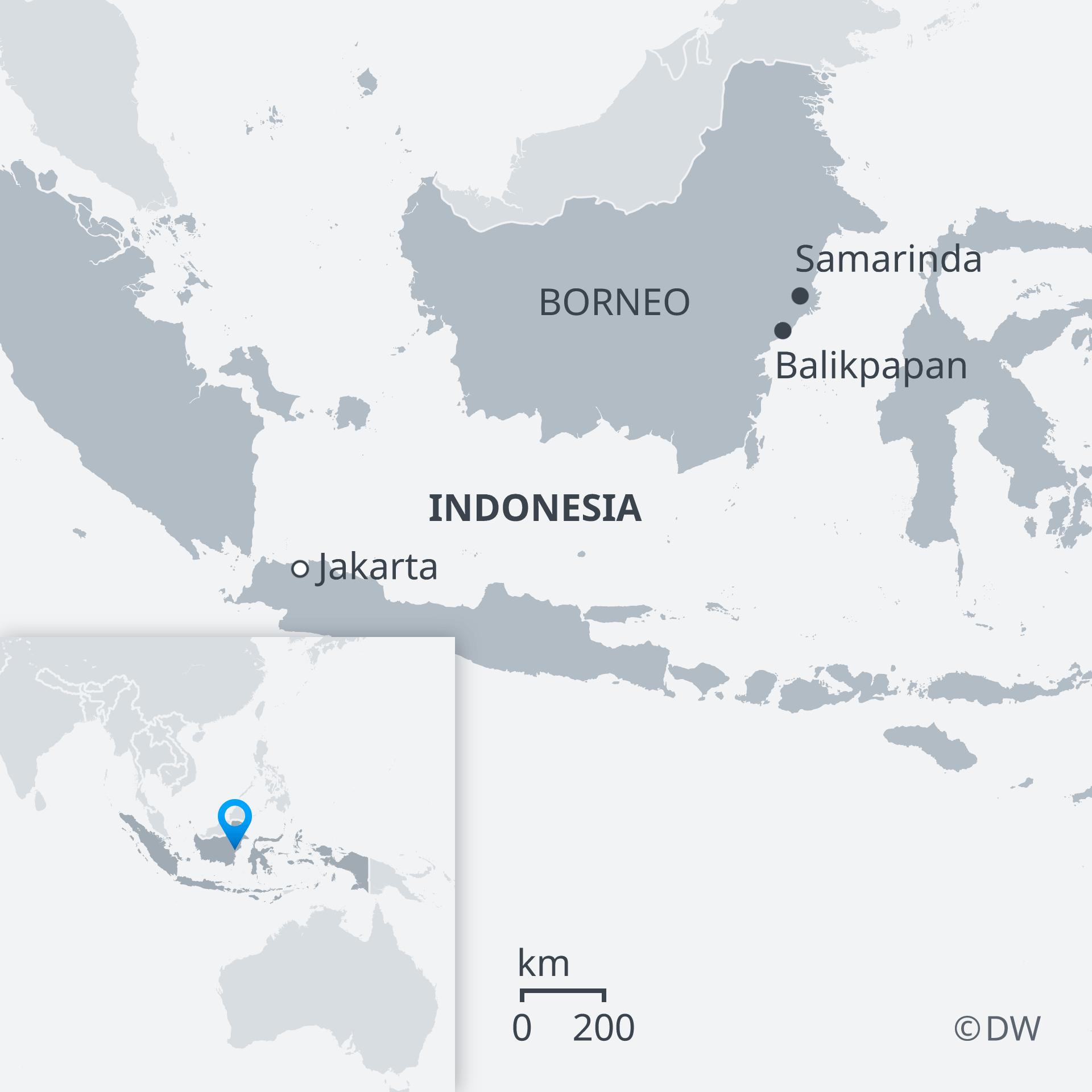 Indonesia Announces Location Of New Capital On Borneo News Dw 26 08 2019