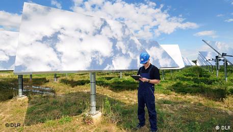 Солнечная электростанция в Юлихе