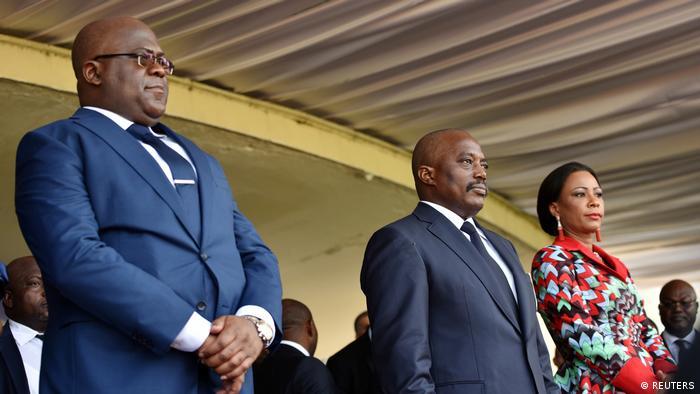 DR Kongo Kinshasa Tshisekedi und Kabila