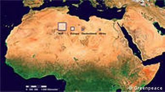 Solaranlagen zur Weltenergieversorgung