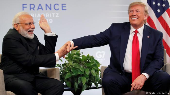 Frankreich G7-Gipfel in Biarritz | Donald Trump & Narendra Modi